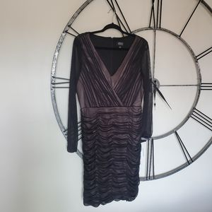Adrianna Papell cocktail party dress